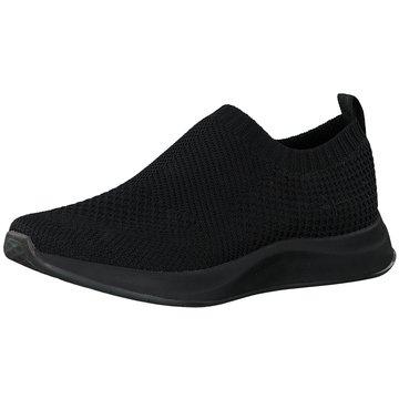 Tamaris Sportlicher Slipper schwarz