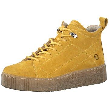 Tamaris Sneaker High gelb