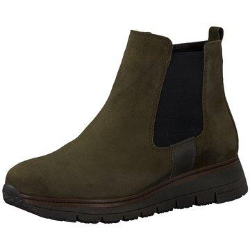 Tamaris Chelsea Boot grün