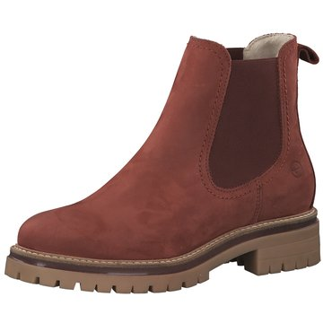 Tamaris Top Trends Stiefeletten rot