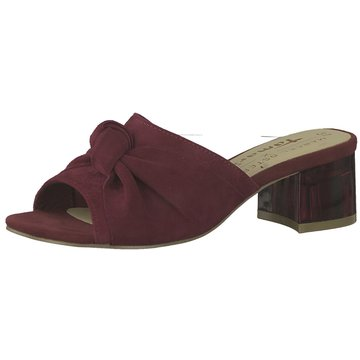 Tamaris Klassische PantolettePantolette rot