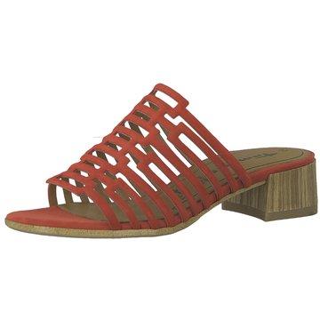Tamaris Klassische Pantolette rot