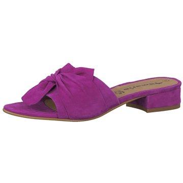 Tamaris Klassische Pantolette lila