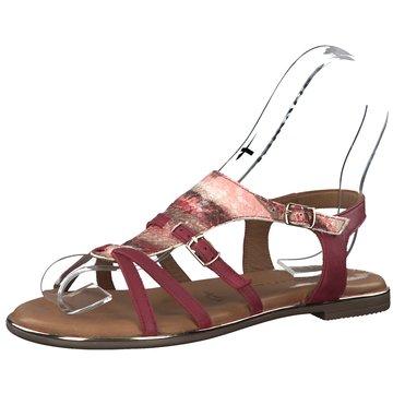 Tamaris Sandale rot