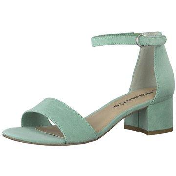 Tamaris Top Trends Sandaletten grün