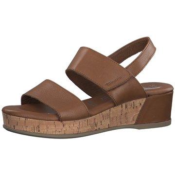 Tamaris KeilsandaletteDa.-Sandalette braun