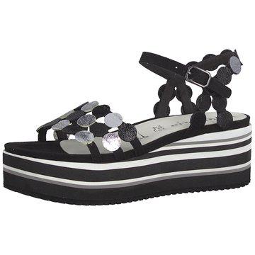 Tamaris Top Trends Sandaletten schwarz