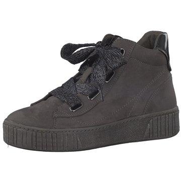 Marco Tozzi Sneaker High grau
