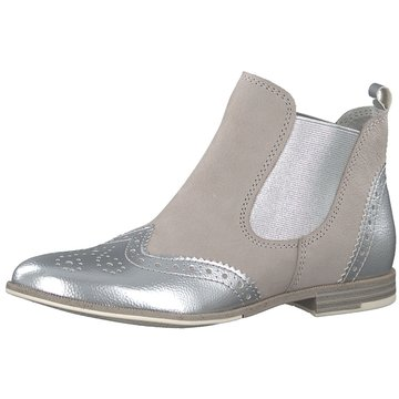 Marco Tozzi Chelsea Boot silber
