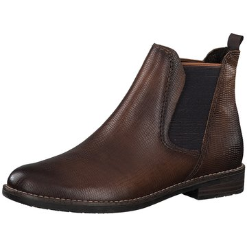 Marco Tozzi Top Trends Stiefeletten braun