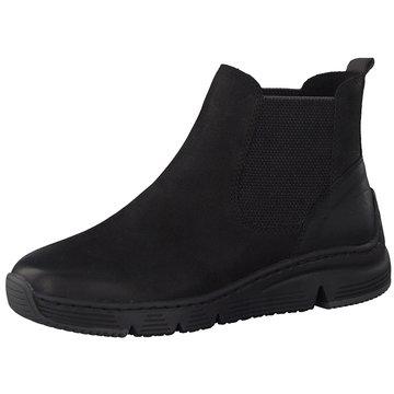 Marco Tozzi Chelsea Boot schwarz