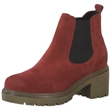 Marco Tozzi Chelsea BootDa.-Stiefel rot
