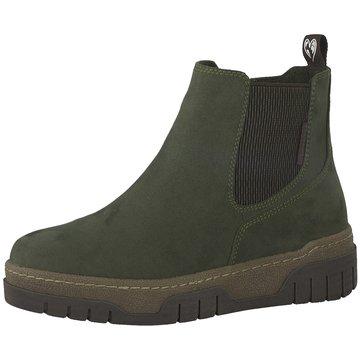 Marco Tozzi Chelsea Boot grün