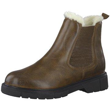 Marco Tozzi Chelsea Boot braun