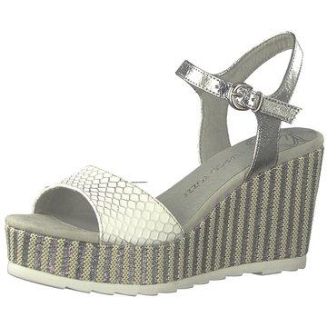 Marco Tozzi Top Trends Sandaletten weiß