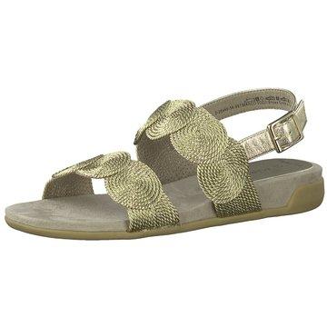 Marco Tozzi Komfort Sandale gold