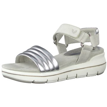 Marco Tozzi Komfort Sandale grau
