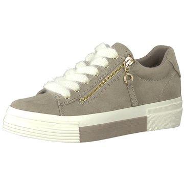 s.Oliver Plateau Sneaker beige