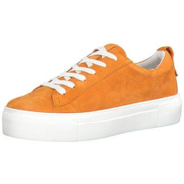 s.Oliver Sportlicher Schnürschuh orange