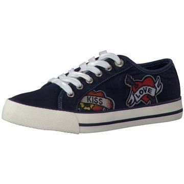 s.Oliver Sneaker Low blau