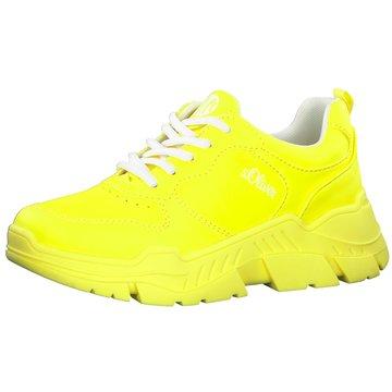 s.Oliver Sneaker Low gelb