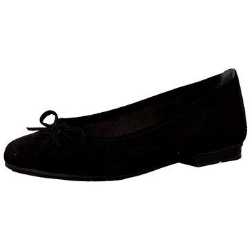 Jana Klassischer Ballerina schwarz