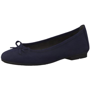 Jana Klassischer Ballerina blau