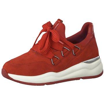 a+w Sportlicher Schnürschuh rot