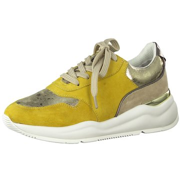 Jana Top Trends Sneaker gelb