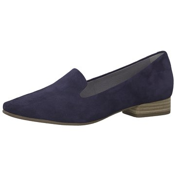 Be Natural Klassischer Slipper blau