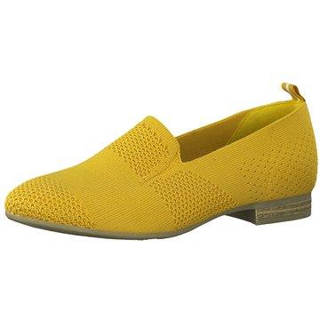 Jana Klassischer Slipper gelb