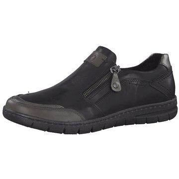 Be Natural Komfort Slipper schwarz