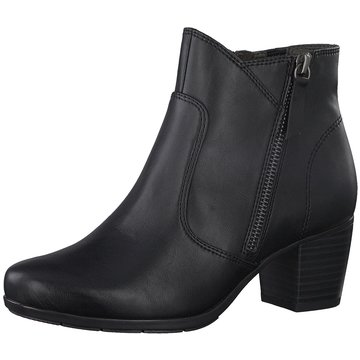a+w Klassische Stiefelette schwarz