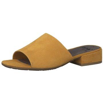Jana Klassische Pantolette gelb