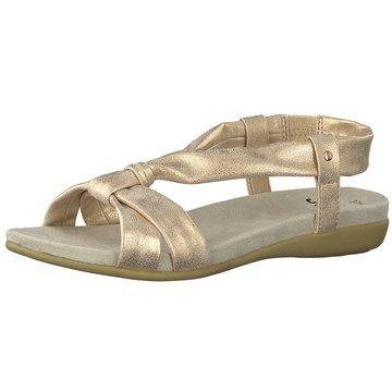 Jana Komfort SandaleDa.-Sandalette gold