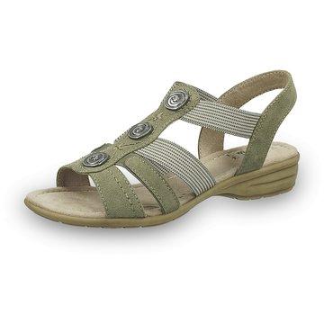 Jana Komfort SandaleDa.-Sandalette grün
