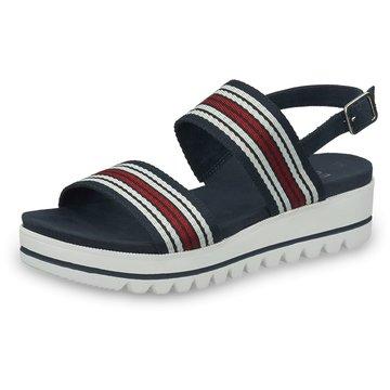 Soft Line Top Trends SandalettenDa.-Sandalette blau