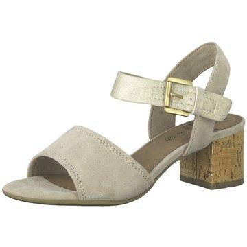 Jana Top Trends Sandaletten beige