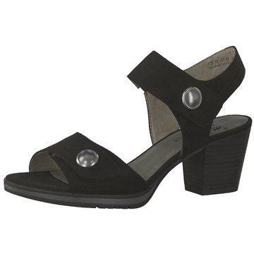 Jana Komfort Sandale schwarz
