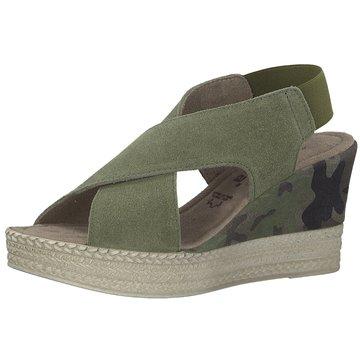 Jana Top Trends Sandaletten oliv
