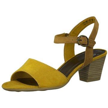 Jana Komfort Sandale gelb
