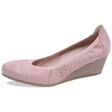 Caprice Keilpumps rosa