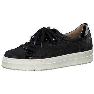 Caprice Plateau Sneaker schwarz