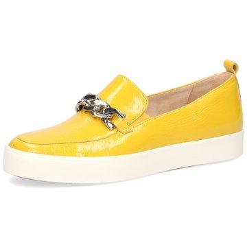 Caprice Klassischer Slipper gelb