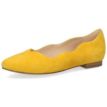 Caprice Klassischer Ballerina gelb