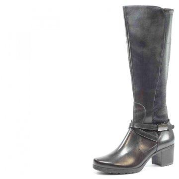Caprice Klassischer Stiefel silber