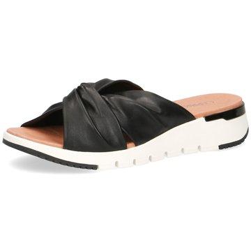 Caprice Komfort Pantolette schwarz