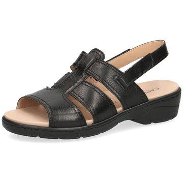 Caprice Komfort Sandale schwarz