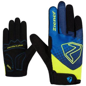 Ziener FingerhandschuheCOLJA LONG JUNIOR BIKE GLOVE - 218505 blau