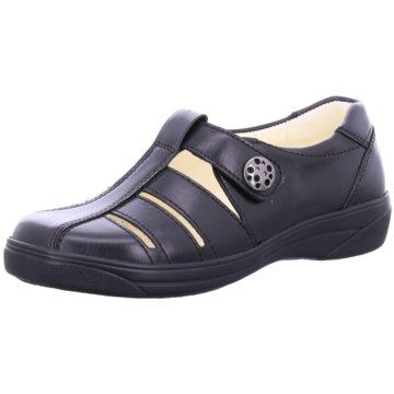 Dietz Komfort Slipper schwarz